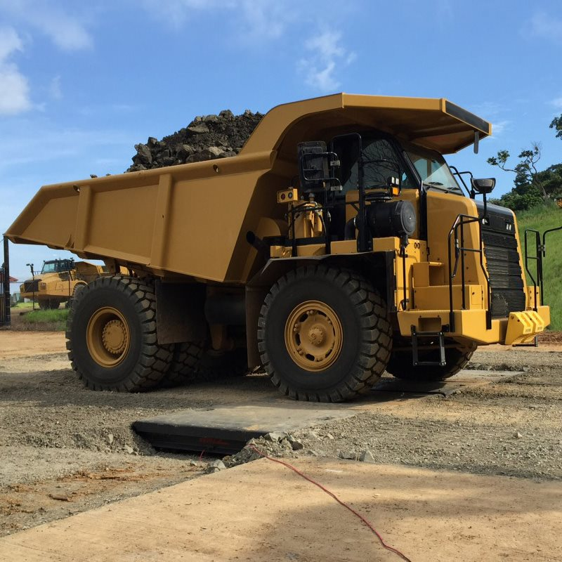 Walz Portable Mining Axle Scale