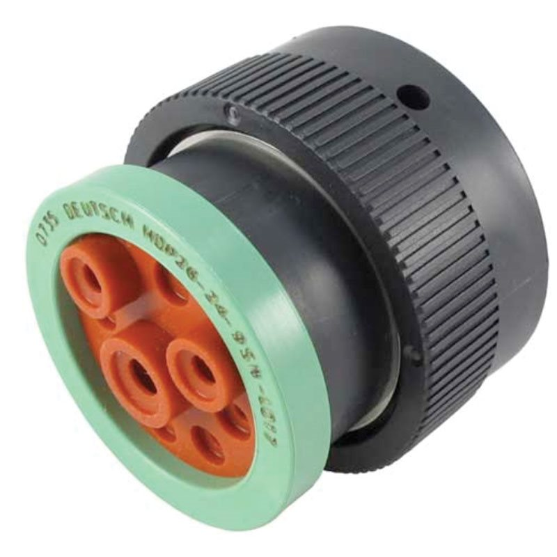 9-Way HDP20 Plug with Adaptor (Socket)