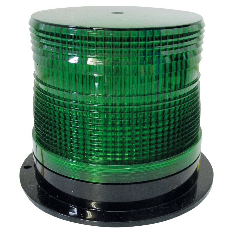 Iconiq LED Strobe 12-24 V Green Lens Double Flash