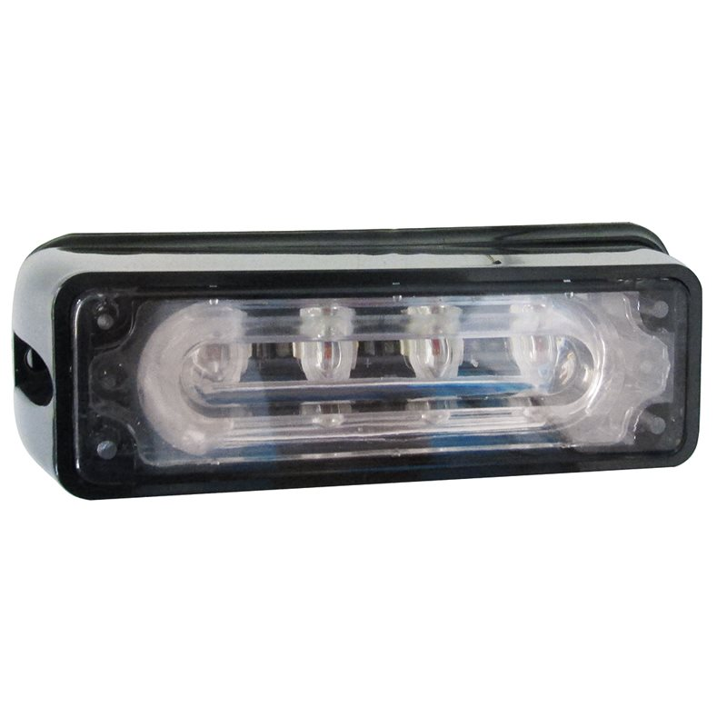 Marker Lamp 12-24 V 4 LED Module Clear Lens