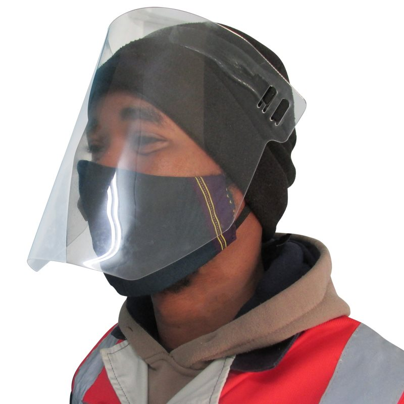 Safety Solutions Clear Face Shield
