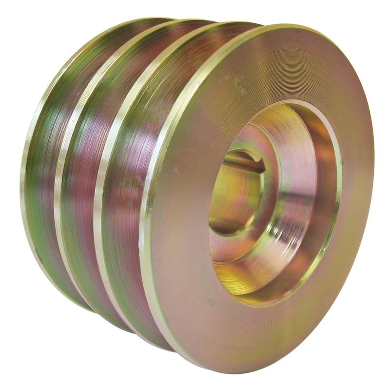 Delco-Type 3 Groove Pulley with Keyway