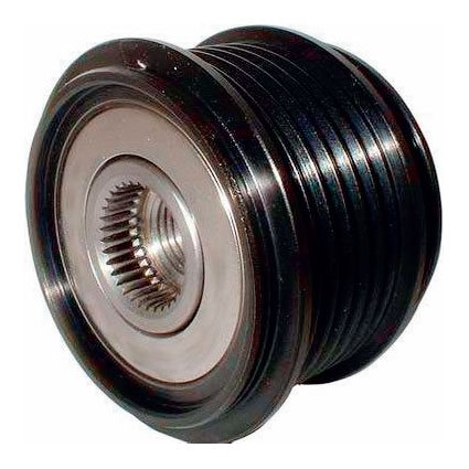 Bosch-Type 6 Groove Clutch Pulley (E4, E8, KCB1, NCB1)