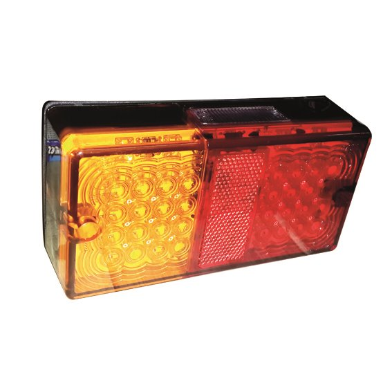 Iconiq Rectangular LED Stop/Tail/Indicator Lamp