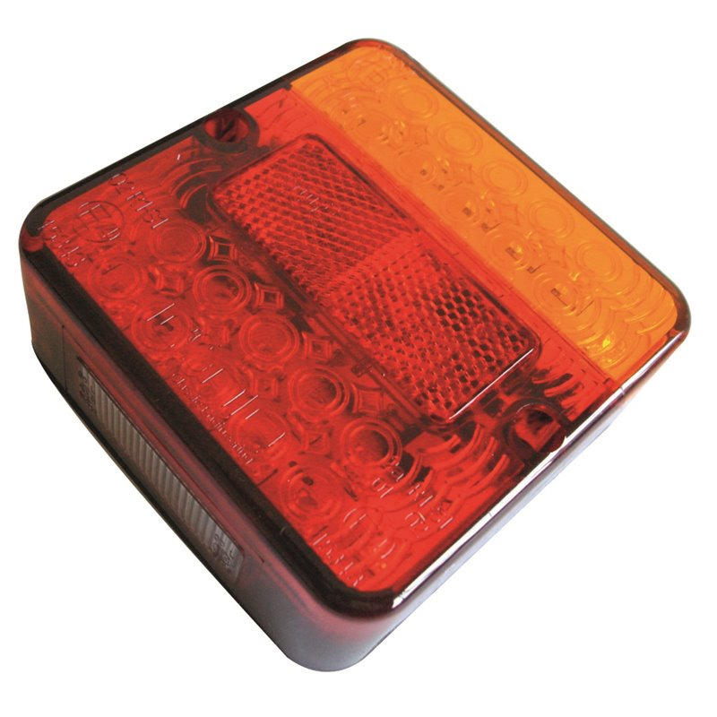 Iconiq Square LED Stop/Tail/Indicator Lamp