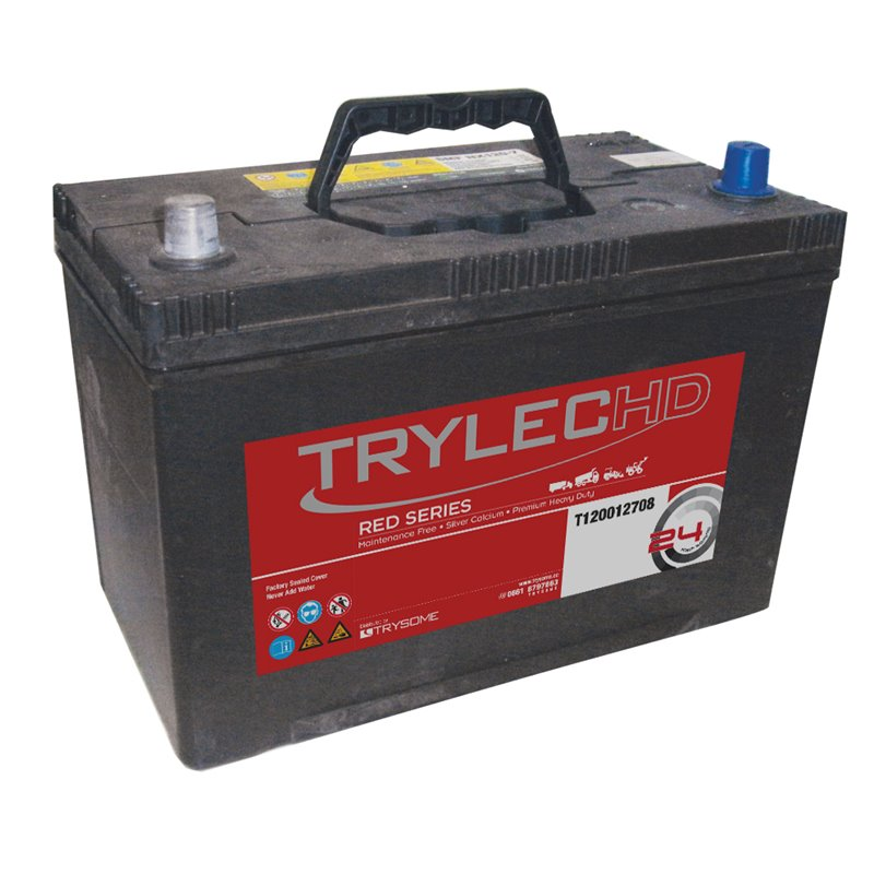 TrylecHD Red Series Sealed Maintenance-Free Battery