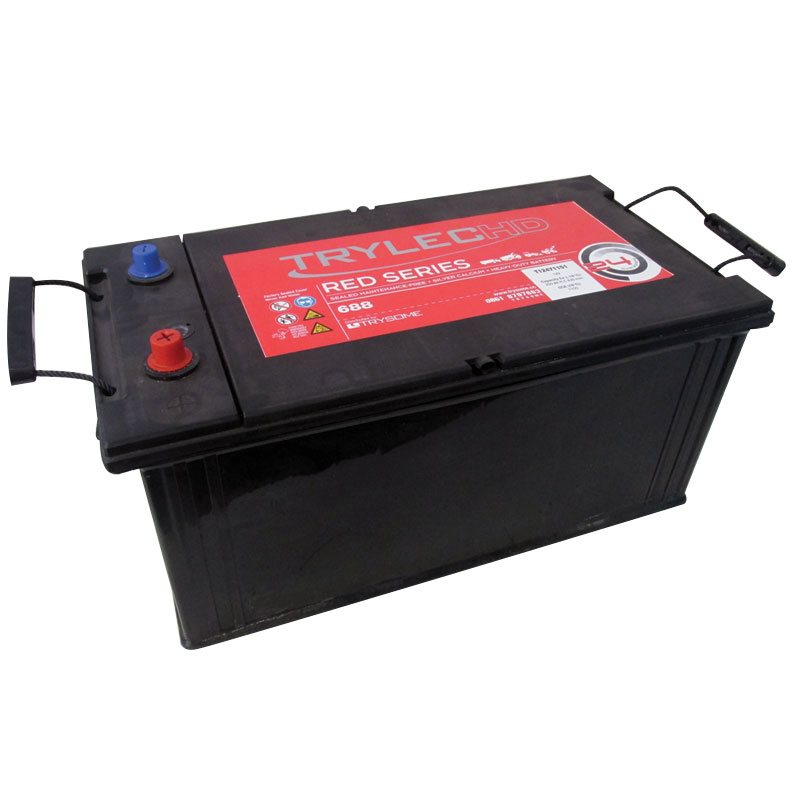 TrylecHD Red Series Premium, Maintenance-Free Battery