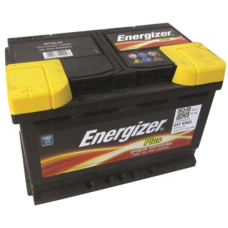 Energizer Premium 3070E, Maintenance-Free Battery