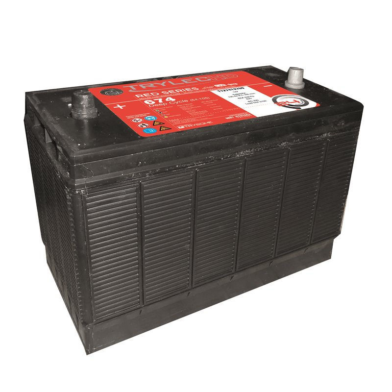 TrylecHD Red Series Premium Deep Cycle Battery