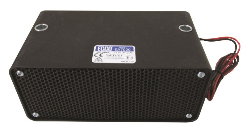ECCO Back-Up Alarm 12 - 24 V MF 102 dB