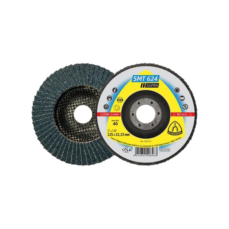 SMT 624 SUPRA Flap Disc for Hand- Held Machines