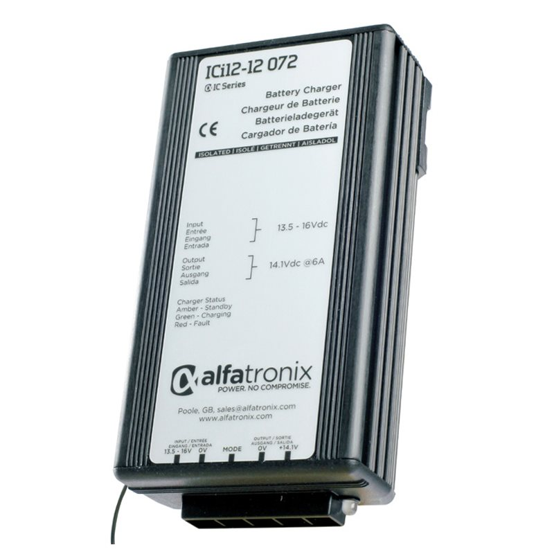 DC-DC Intelligent Battery Charger