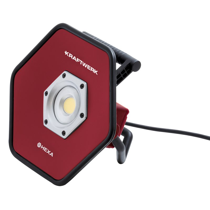 Kraftwerk 40 w LED Rechargeable HEXA 4000 Industrial Work and Spotlight