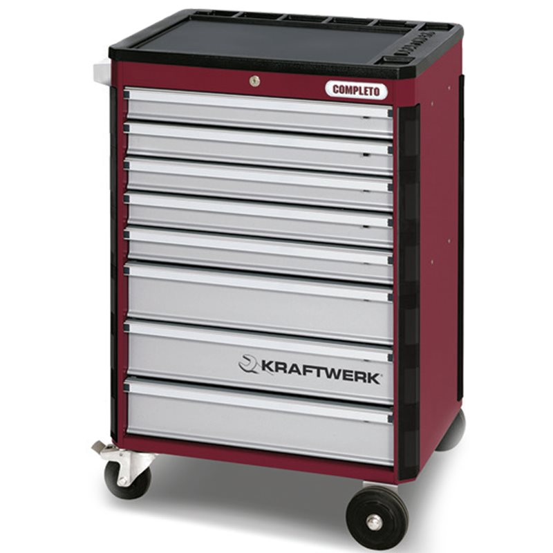 Tool Trolley with Assorted Professional Tools