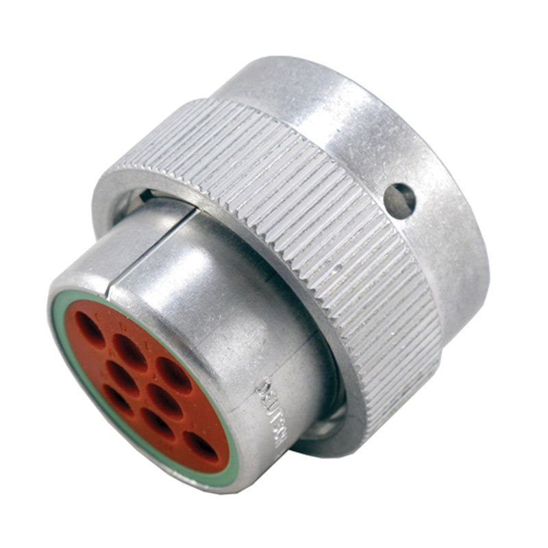 8-Way HD30 Receptacle (Socket)