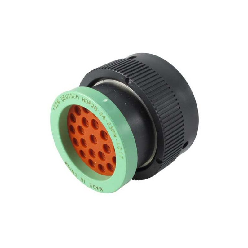 23-Way HDP20 Plug with Adaptor (Pin)