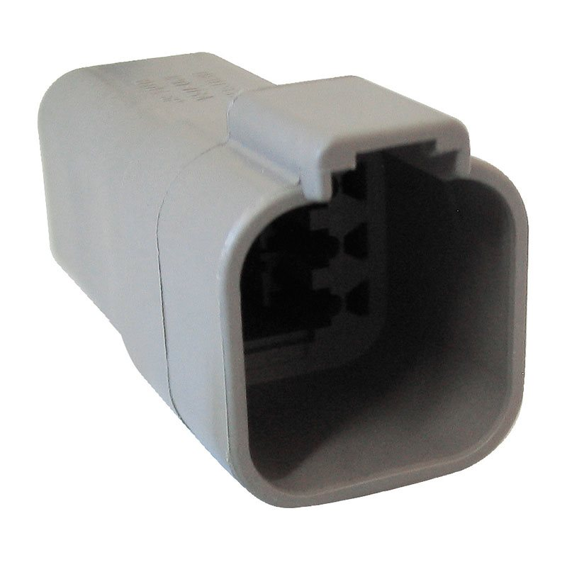 6-Way DT Receptacle