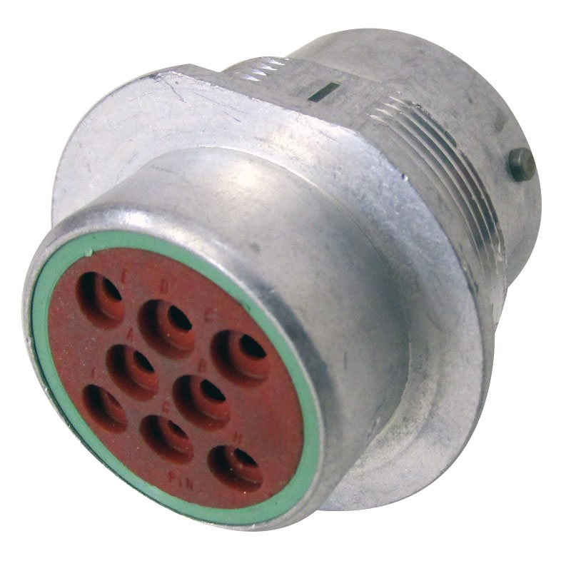 8-Way HD30 Receptacle (Pin)