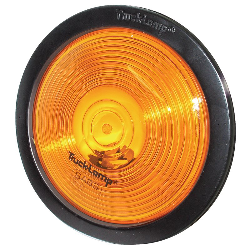 Trucklamp Indicator Lamp Semi-Sealed Amber Lens